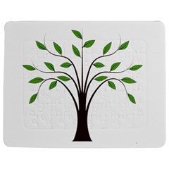 Tree Vector Jigsaw Puzzle Photo Stand (Rectangular)