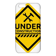 Under Construction Warning Sign Clipart iPhone 6/6S TPU Case