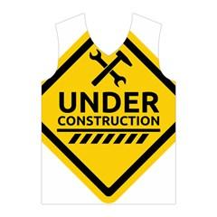 Under Construction Warning Sign Clipart Men s Basketball Tank Top