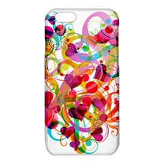 Abstract Colorful Heart iPhone 6/6S TPU Case