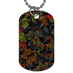 Autumn colors  Dog Tag (One Side)