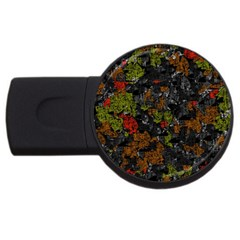 Autumn colors  USB Flash Drive Round (1 GB)