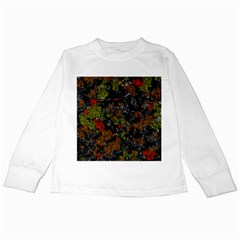 Autumn colors  Kids Long Sleeve T-Shirts