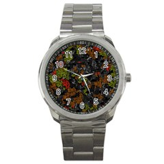 Autumn colors  Sport Metal Watch