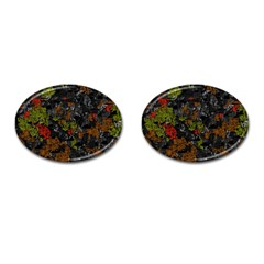 Autumn colors  Cufflinks (Oval)