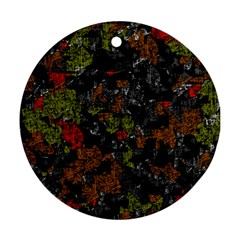 Autumn colors  Round Ornament (Two Sides)