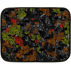 Autumn colors  Fleece Blanket (Mini)