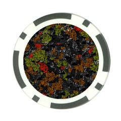 Autumn colors  Poker Chip Card Guards (10 pack)