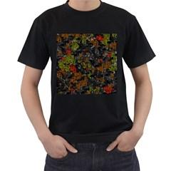 Autumn colors  Men s T-Shirt (Black)
