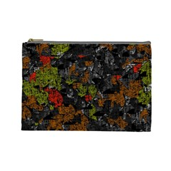Autumn colors  Cosmetic Bag (Large)
