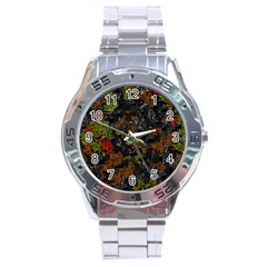 Autumn colors  Stainless Steel Analogue Watch