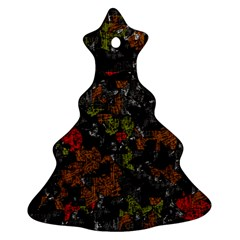 Autumn colors  Christmas Tree Ornament (2 Sides)