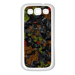 Autumn colors  Samsung Galaxy S3 Back Case (White)