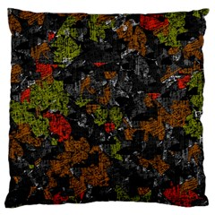 Autumn colors  Standard Flano Cushion Case (One Side)