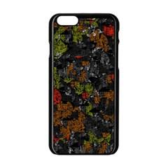 Autumn colors  Apple iPhone 6/6S Black Enamel Case