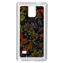 Autumn colors  Samsung Galaxy Note 4 Case (White)