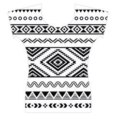 Aztec Pattern Women s Cap Sleeve Top