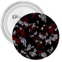 Red, white and black abstract art 3  Buttons