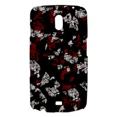 Red, white and black abstract art Samsung Galaxy Nexus i9250 Hardshell Case
