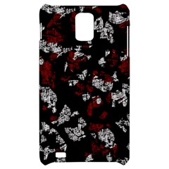 Red, white and black abstract art Samsung Infuse 4G Hardshell Case
