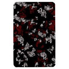 Red, white and black abstract art Kindle Fire (1st Gen) Hardshell Case