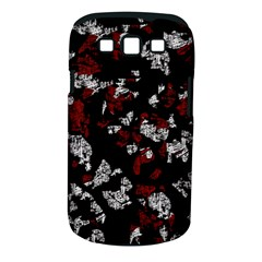 Red, white and black abstract art Samsung Galaxy S III Classic Hardshell Case (PC+Silicone)