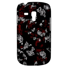 Red, white and black abstract art Samsung Galaxy S3 MINI I8190 Hardshell Case
