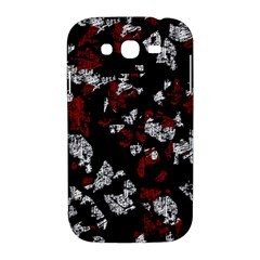 Red, white and black abstract art Samsung Galaxy Grand DUOS I9082 Hardshell Case