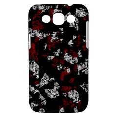 Red, white and black abstract art Samsung Galaxy Win I8550 Hardshell Case