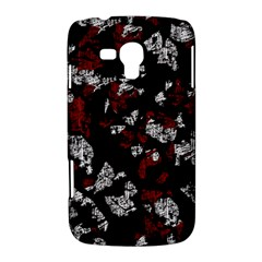 Red, white and black abstract art Samsung Galaxy Duos I8262 Hardshell Case