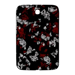 Red, white and black abstract art Samsung Galaxy Note 8.0 N5100 Hardshell Case