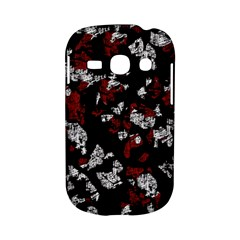 Red, white and black abstract art Samsung Galaxy S6810 Hardshell Case