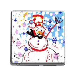 Snowman Memory Card Reader (Square)