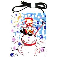 Snowman Shoulder Sling Bags