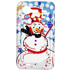 Snowman HTC Incredible S Hardshell Case