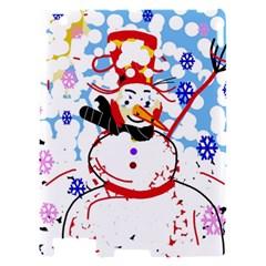 Snowman Apple iPad 2 Hardshell Case