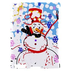 Snowman Apple iPad 2 Hardshell Case (Compatible with Smart Cover)