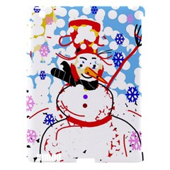 Snowman Apple iPad 3/4 Hardshell Case (Compatible with Smart Cover)