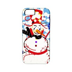 Snowman Apple iPhone 5 Classic Hardshell Case (PC+Silicone)
