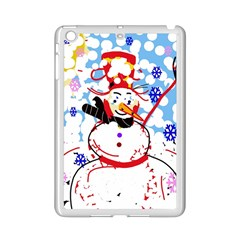 Snowman iPad Mini 2 Enamel Coated Cases