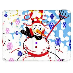 Snowman Samsung Galaxy Tab 7  P1000 Flip Case