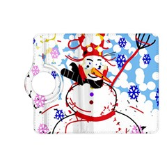 Snowman Kindle Fire HD (2013) Flip 360 Case