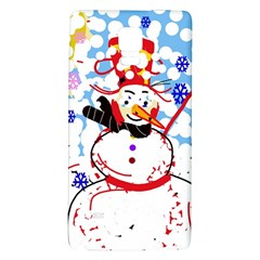 Snowman Galaxy Note 4 Back Case