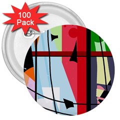 Window 3  Buttons (100 pack)