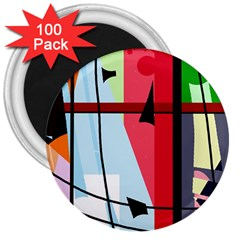 Window 3  Magnets (100 pack)