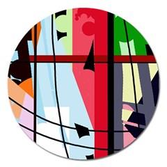 Window Magnet 5  (Round)