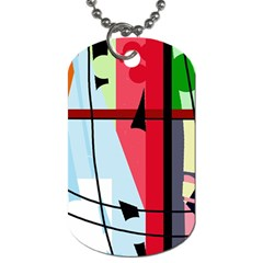 Window Dog Tag (Two Sides)