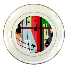 Window Porcelain Plates