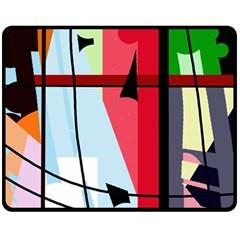 Window Fleece Blanket (Medium)