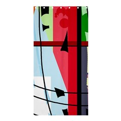 Window Shower Curtain 36  x 72  (Stall)